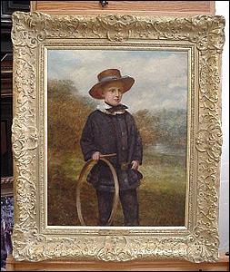 Renoir painting after restoration